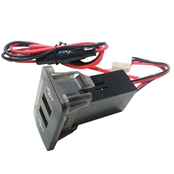 Sannysis MK4 in Dash Panel Dual USB Port Charger Power ...