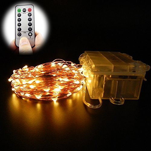 china-oem ER CHEN Remote Battery Operated Micro LED Strin...