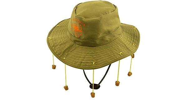 5ca0b5eabcb Islander Fashions Mens Australian Cork Hat Adults Australia Outback Stag Do Fancy  Dress Accessory One Size  Amazon.com.au  Fashion