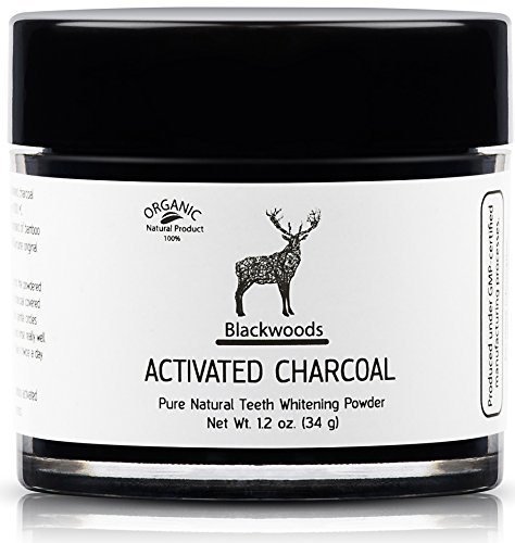 Blackwoods Charcoal Teeth Whitening | Black Carbon Activated