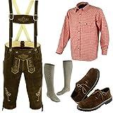 German Bavarian Oktoberfest Trachten Lederhosen Complete Outfit (38)