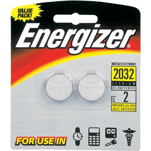 Energizer - 3V Lithium Button Cell Battery Retail Pack - 2-Pack