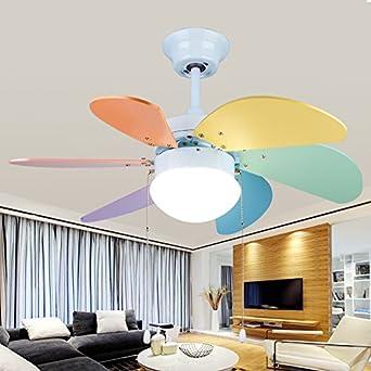 sdkky la lámpara para lámpara infantil con Fan – Bombilla, Deckenventilator y ventilador: Amazon.es: Iluminación