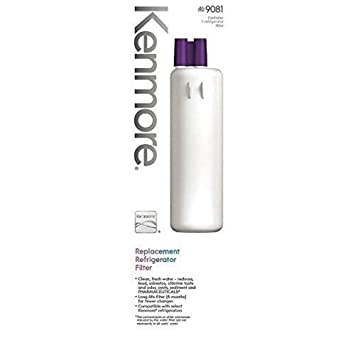 kenmore 469081. kenmore 469081 replacement refrigerator water filter - 9081 by amazon.com