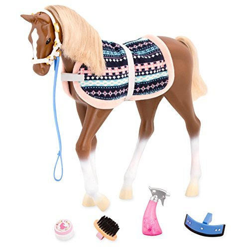 Our Generation Foal, Quarter with Grooming Accessories