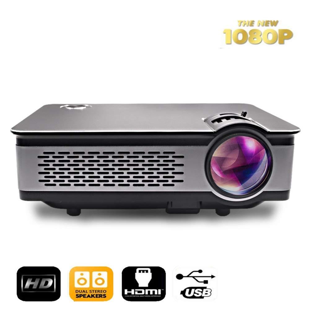 Cine en casa Proyector Proyectores 250ANSI Soporte HD Mini ...