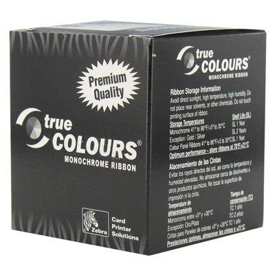 Zebra Silver Monochrome Ribbon - 5