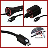 Bright LED Wall & Car Micromax Canvas Knight Charging Kit with 6ft Micro-USB Cable and Touch Activated LED Light!
