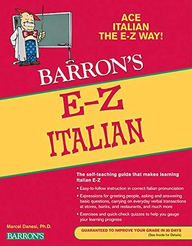 E-Z Italian (Barron's Easy Series)