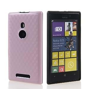 SHOPPINGBOX Carcasa de TPU Gel Funda Caso Tapa silicona Case Cover Para Nokia Lumia 925 Rosa
