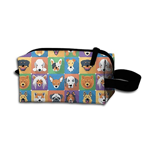 head VIP Husky Lattice Travel&home Portable Make-up Receive Bag Hand Cosmetic Bag With Hanging ()