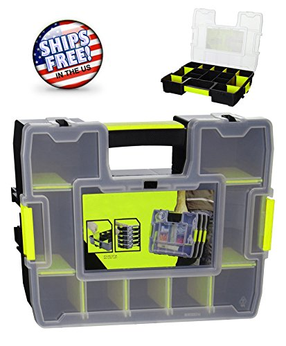 NEW Tool Box Organizer Portable Garage Storage Cabinet Small Parts (Insulated Garage Cabinet)