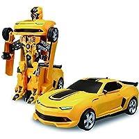 ARHA IINTERNATIONAL Kids Transformers Toys Robot Car for 3 Year Old Boys and Children