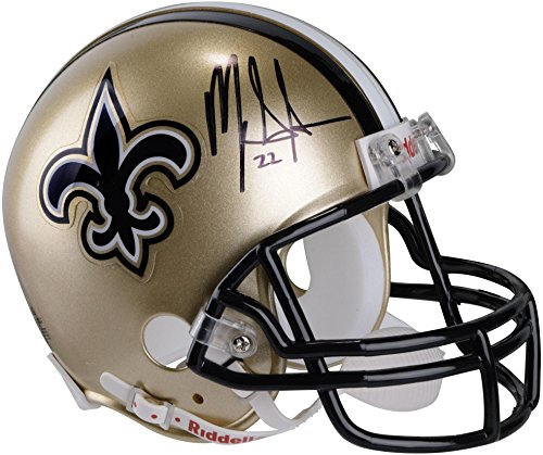 Mark Ingram New Orleans Saints Autographed Riddell Mini Helmet - Fanatics Authentic Certified - Autographed NFL Mini Helmets
