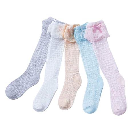 YOYOGO NiñOs Mochilas Calcetines para NiñOs Carritos De Bebé,Recién Nacido bebé niñas Bowknot