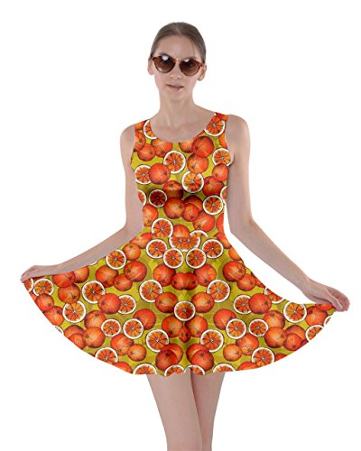 Orange Avocado XS Red CowCow Papaya Skater Fruits 5XL Lemon Summer Vegetables Womens Coconut Dress Strawberry xw1qEOgSw