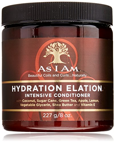 As I Am Hydration Elation Intensive Conditioner, 8 Ounce (Intensive Deep Conditioner)
