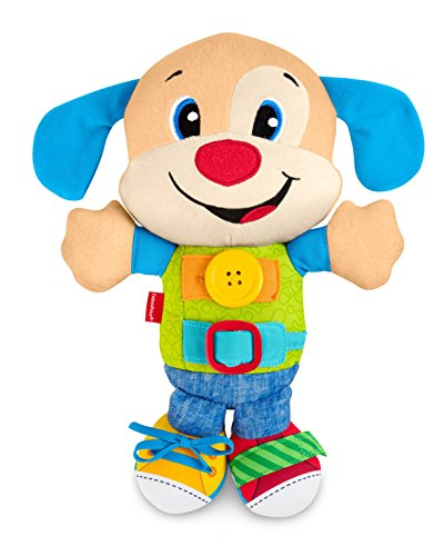 Fisher-Price Laugh & Learn Learn to Dress Puppy Plush Doll