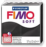 FIMO Soft Modelling Clay 56g Block Black