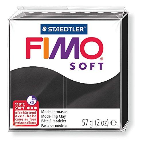 PASTILLA 57GRS FIMO SOFT NEGRO 8020-9
