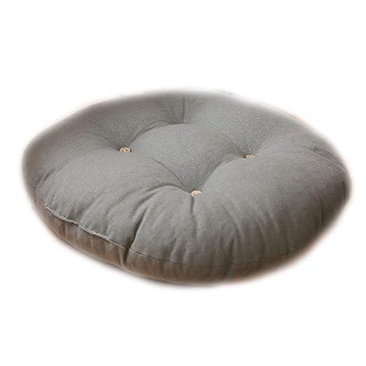 GUOQIAO - Cojín redondo japonés para asiento (45 x 12 cm ...