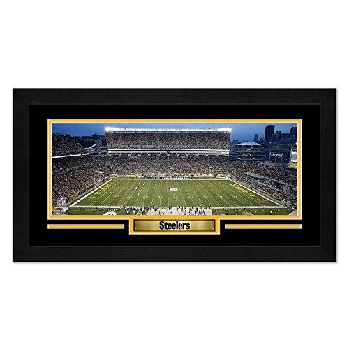 Pittsburgh Steelers Heinz Field Framed - Photo File Pittsburgh Steelers Print 13x7 Framed Heinz Field Design