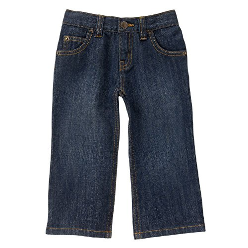 Boys Dark Blue Denim Jeans - 2