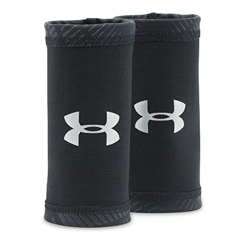 Under Armour Men's CoolSwitch Wristbands, Black/Reflective, One Size