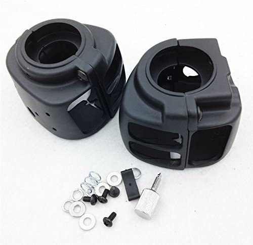 SMT-Switch Housings Cover Compatible With 2009 Later Harley Dyna Sportsters Softail V Rod Black Motor B01M4LEMJO
