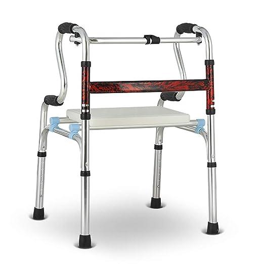 ZXL Ayuda de Movilidad para Caminar Plegable de Aluminio ...