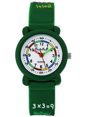 Armbanduhr kinder  Pacific Time First Kinder-Armbanduhr 1x1 Armbanduhr Kinder Mädchen ...