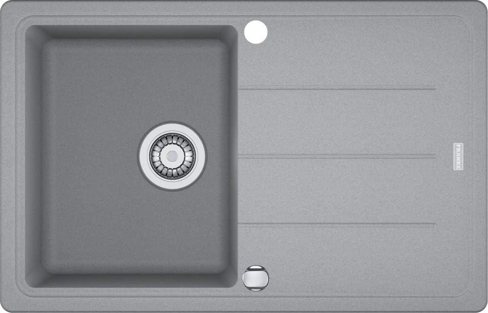 Franke B/ásico BFG 611 Gris piedra Fragranit Fregadero Edici/ón Fregadero cocina fregadero