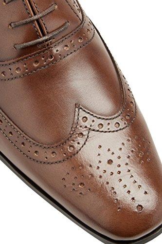 next Hombre Zapato Oxford Corte Regular Bronceado