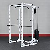 Body-Solid Power Rack and Lat Package WPR78P3