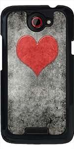 Funda para HTC one x - Valentines Vendimia Rouge by BruceStanfieldArtist