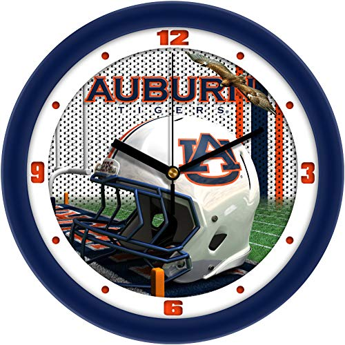 Auburn Tigers - Football Helmet Wall Clock