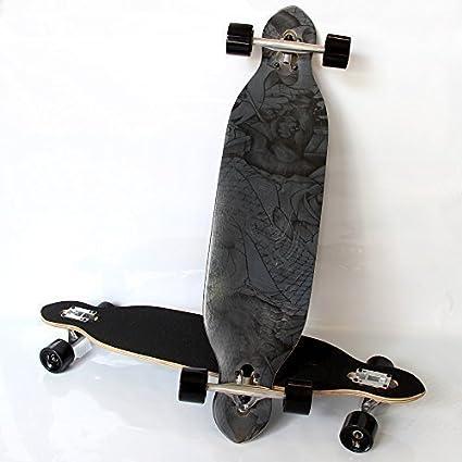 Rapid Teck Profi Longboard Skateboard Komplett Street Waveboard Stunt Scooter