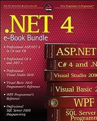 .NET 4 Wrox eBook Bundle: Professional ASP.NET 4, Professional C# 4, VB 2010 Programmer's Reference, WPF Programmer's Reference, Professional Visual Studio 2010, and Professional SQL Server 2008