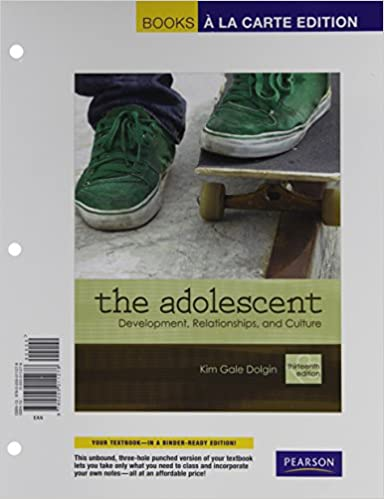 Amazon the adolescent development relationships and culture the adolescent development relationships and culture books a la carte plus mylab human development access card package 13th edition 13th edition fandeluxe Images