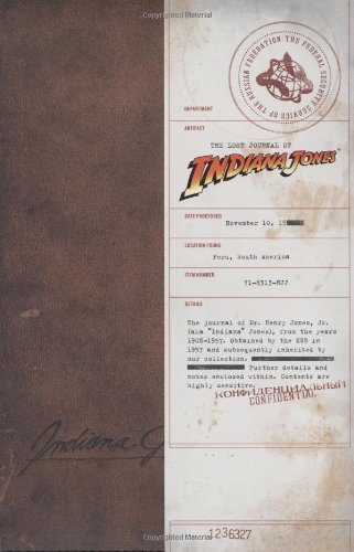 The Lost Journal of Indiana Jones (Imitation Leather)