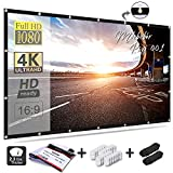 Mdbebbron 120 inch Projection Screen 16:9 HD