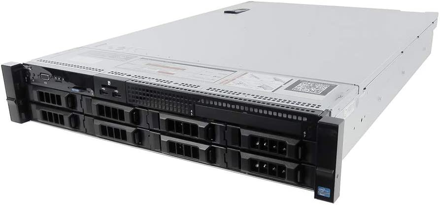 Dell PowerEdge R730 Server | 2X E5-2630v3 2.40GHz | 48GB | H730 | 2X HDD Trays (Renewed)