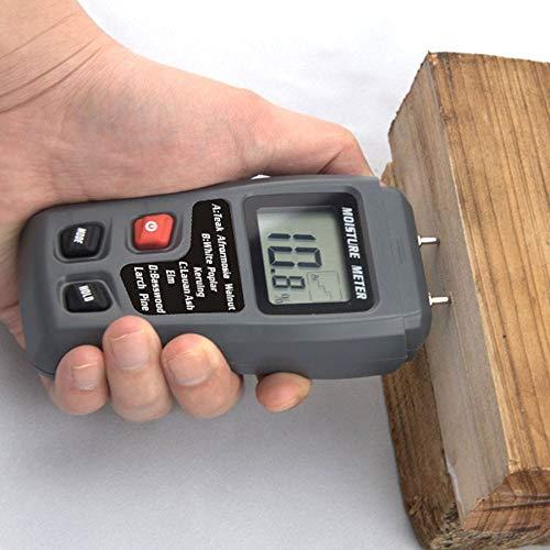 MT-10 Large-screen LCD Digital Wood Humidity Meter Wood Moisture Tester Moisture Meter Range 0~99.9% & Backlight