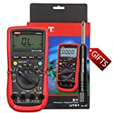 NKTECH TL-1 Screwdriver UNI-T UT61A Auto Range True RMS Digital Multimeter AC DC Voltage Current Capacitance Frequency Resistance NCV Backlight Voltmeter Ammeter Ohmmeter Tester Meter
