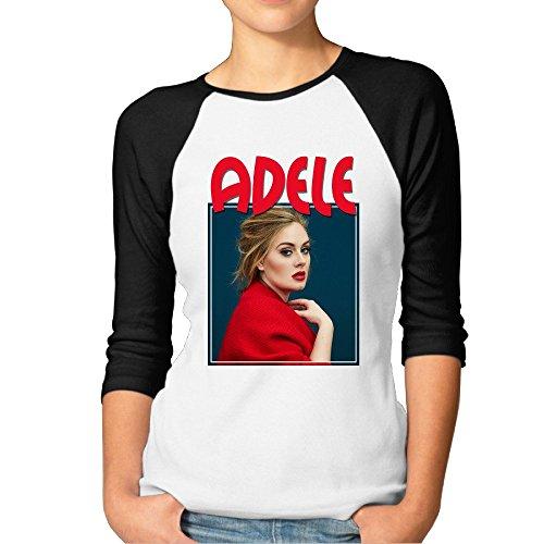 fashion-woman-ad-ele-pop-singer-t-shirts-black-size-l