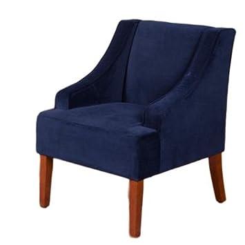 Amazon.com: Acento silla con brazos azul marino acento de ...