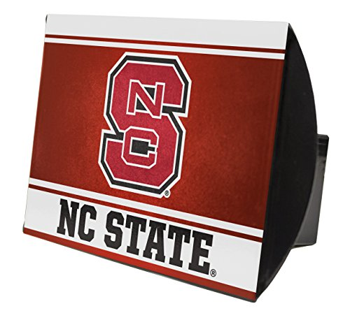 NC State Wolfpack Metal Trailer Hitch Cover