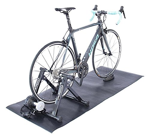 Bike Bicycle Trainer Floor Mat Suits Ergo Mag Fluid Anti-vibration (30'' x 72'') by CyclingDeal (Image #3)
