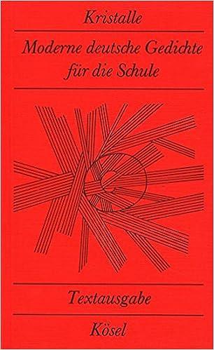 Moderne gedichte schule