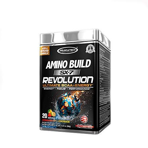 Volumizer Cell Muscle (MuscleTech Amino Build SX-7 Revolution - Strawberry Lemonade)